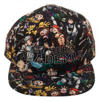 My Hero Academia High Density Print Sublimated Snapback Cap Hat