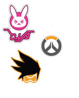Overwatch Game 3 Piece Patch Set