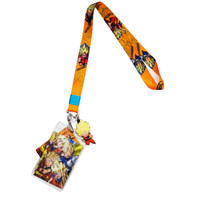 Dragon Ball Super: Goten, Trunks, Goku, & Vegeta Lanyard
