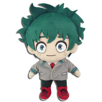"My Hero Academia: Izuku Midoriya ""Deku"" School Uniform Plush"