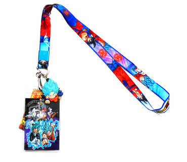 Dragon Ball Super: Resurrection F Lanyard with ID Holder & Goku Charm