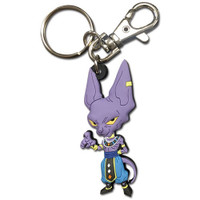 Dragon Ball Super: SD Beerus PVC Keychain