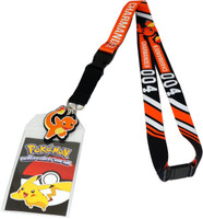 Pokemon Charmander 004 Exclusive Lanyard with ID Badge Holder & Charm
