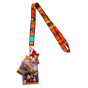 Dragon Ball Super: Battle of Gods Goku Lanyard with ID Holder & Charm