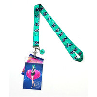 Sailor Moon S: Sailor Neptune Lanyard with ID Badge Holder & Charm