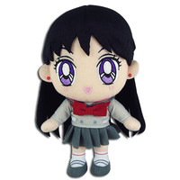 Sailor Moon S: Rei School Uniform Plush
