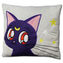 Sailor Moon Supers: Luna Throw Pillow