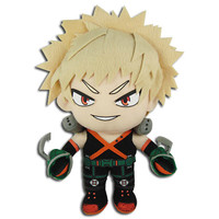 My Hero Academia: Bakugo Hero Suit Costume Plush