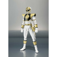 Mighty Morphin Power Rangers White Ranger S.H. Figuarts Action Figure