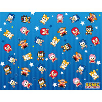Sonic the Hedgehog: SD Group Sublimation Throw Blanket