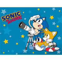 Sonic the Hedgehog: Sonic & Tails Telescope Sublimation Throw Blanket
