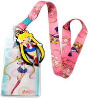Sailor Moon: Sailor Moon Lanyard with Badge ID Holder & PVC Charm