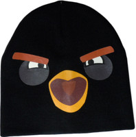 Angry Bird: Black Bird Face Beanie