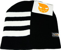 Soul Eater: Death the Kid Hair Stripe Anime Beanie