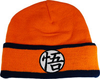Dragon Ball Z: Goku Kanji Symbol Cuff Beanie