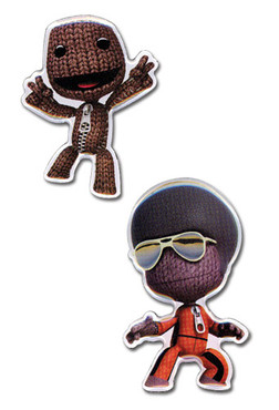 Little Big Planet: Sack Boy Pin Set