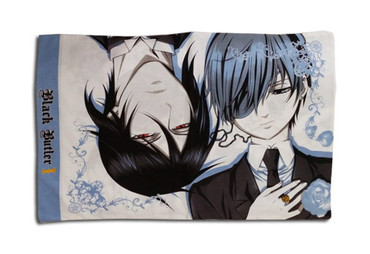 Black Butler 2: Sebastian & Ciel Pillow Case
