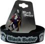Black Butler: Sebastian & Ciel Cow PVC Wristband