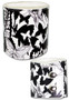 Bleach: Butterfly Print Leather Wristband
