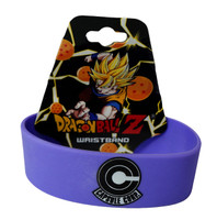 Dragon Ball Z: Capsule Corp and Trunks Katakana PVC Wristband