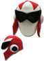 Mega Man 10: Protoman Fleece Cosplay Cap