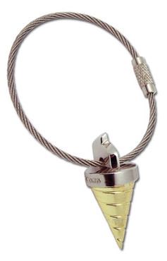 Gurren Lagann: Core Drill Metal Key Chain