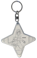 Naruto: Sasuke Shuriken Shape Key Chain