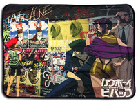 Cowboy Bebop: Group Sublimation Throw Blanket
