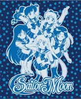 Sailor Moon: Sailor Soldiers Group Throw Blanket