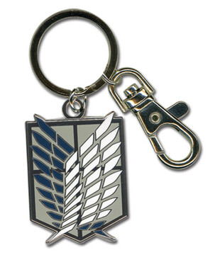 Attack on Titan: Scout Regiment Metal Key Chain