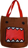 Domo Kun: Domo Face Brown Tote Bag