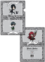 Black Butler: Sebastian, Ciel, and Grell File Folder - Pack of 5