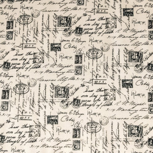 Letters Cotton Weighted Blanket