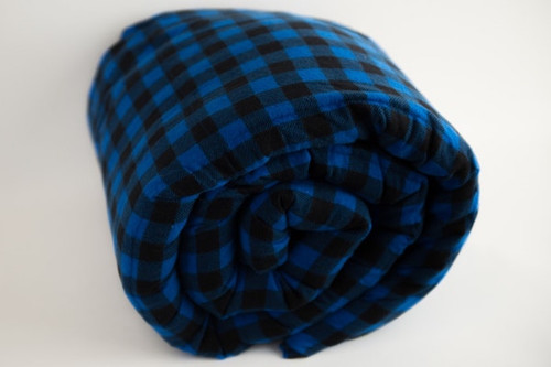 Royal Blue Plaid