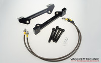 Front Caliper Carrier Kit - Allows Fitment of Audi R8 Ceramic Calipers to R8 Ceramic Discs (AK0004)