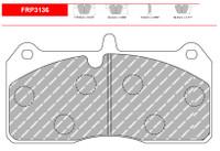 Ferodo DS2500 Front Brake Pad Set (FRP3136H)