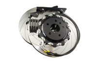 Front 2-Piece 362x32mm Disc & Caliper Carrier Kit - Allows Fitment of 8 Piston RS4/R8/Gallardo Brembo Calipers (DI0002)