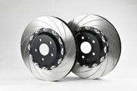 Front 2-Piece 362x32mm Disc & Caliper Carrier Kit - Allows Fitment of 4 Piston TTRS/RS3 Brembo Calipers (DI0003)