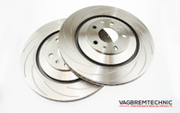 Grooved 310x22mm Rear Brake Discs (1K31022-CG)