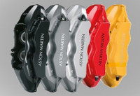 Calipers as supplied in Black, Grey, Silver, Red, Yellow with Aston Martin Logos
