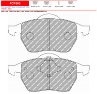 Ferodo DS3000 Front Brake Pad Set (FCP590R)