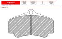 Ferodo DS2500 Front Brake Pad Set (FRP3050H)