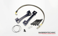 Front Caliper Carrier Kit - Allows Fitment of Porsche 996TT Calipers to Merc 350x32mm Discs (AK0008)
