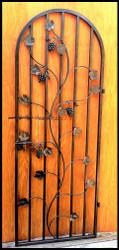 My Most Popular Grapevine Door!     Charlotte Grapevine Iron Wine Cellar Door - Many sizes to choose from