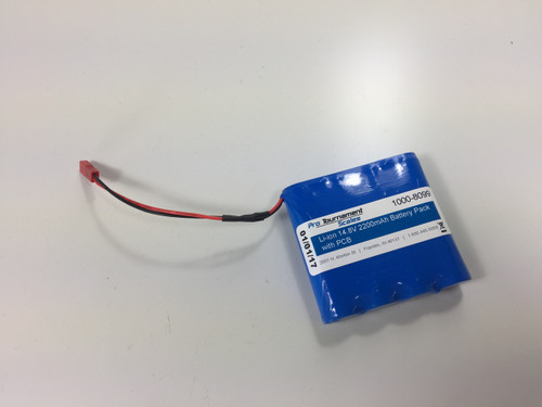 Battery for H2 Scale.  Requires Red Connector inside scale head