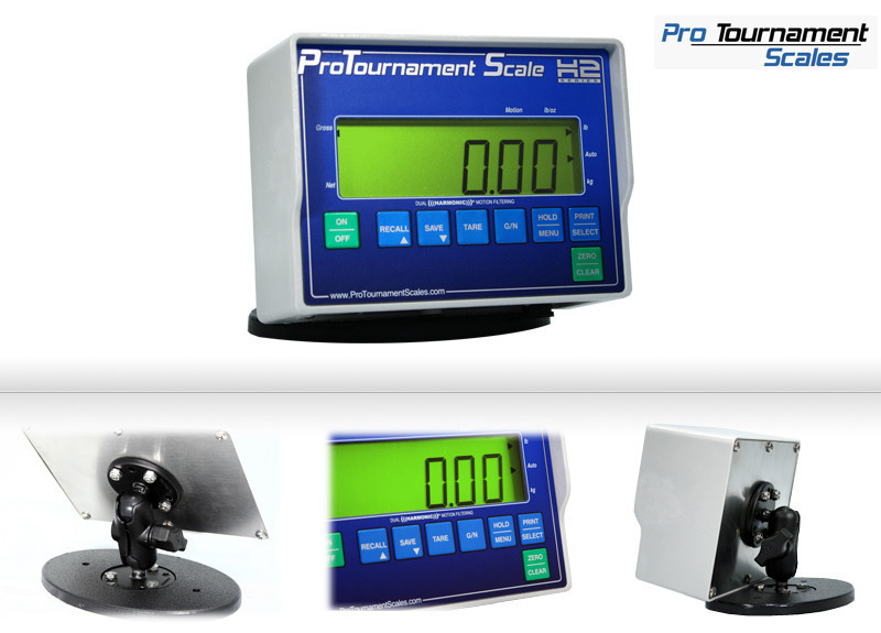 The H2 Scale System is the most advanced Tournament and Derby weigh-in Scale available. H2 Deluxe Tournament scale for fishing tournaments for bass fishing, walleye fishing, catfish fishing, ice fishing and all types of recreational fishing that needs a great set of scales to weigh your fish.