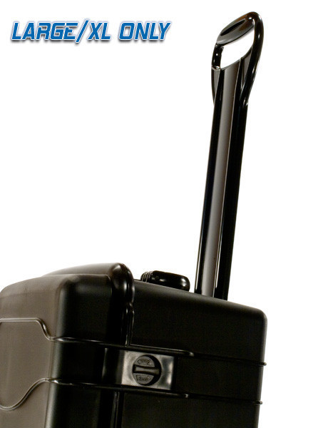 Retractable handle fro easy moving!