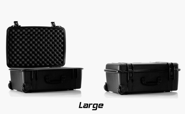 The Large Seahorse storage case is perfect for storing your H2 or TS scale system and all your accessories.