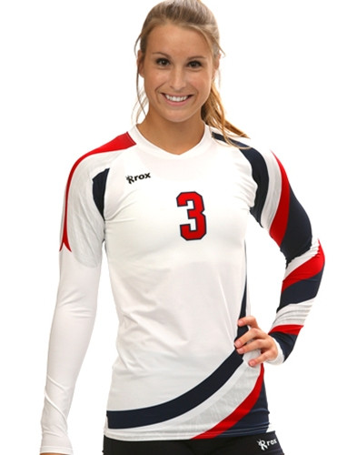 Roxamation Shield Sublimated Volleyball Jersey - 1st Place ... d16976b4e0e18