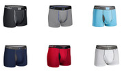 "2UNDR Swing Shift Performance 3"" Trunk Cut Boxer Briefs"